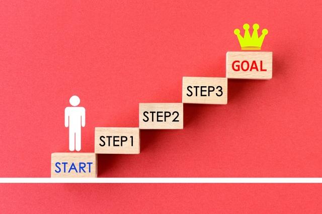 具体的なステップ